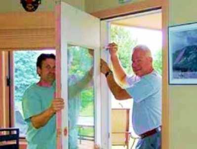Что делать если просела дверь