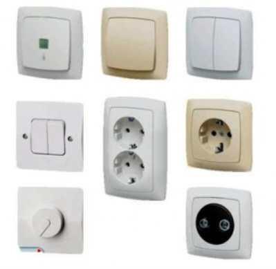 Выбираем розетки и выключатели